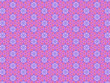 canvas print picture - seamless pattern with circles