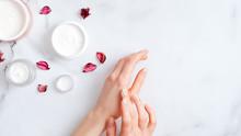 Hand Skin Care Concept. Top Vi...