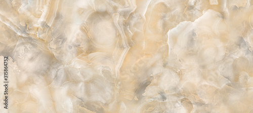 Fototapeta Polished onyx marble with high-resolution, Emperador marble, natural breccia stone agate surface, modern Italian marble for interior-exterior home decoration tile and ceramic tile surface, wallpaper.  obraz