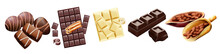 Various Types Of Chocolate And...