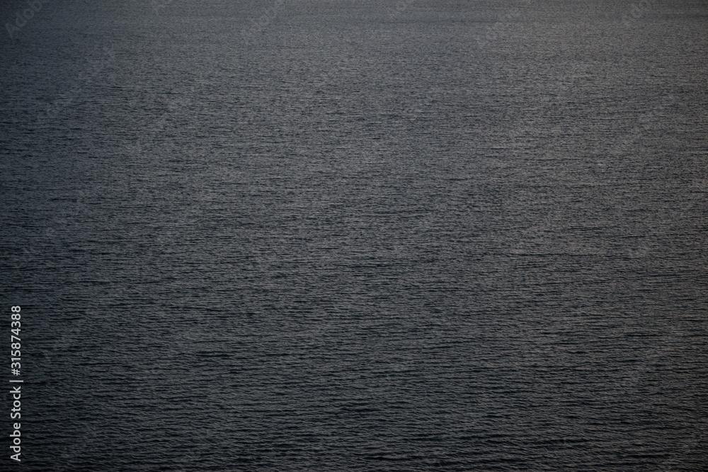 Fototapeta sea ripples, blue and grey sea, Arctic ocean