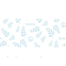 Peace Elements Seamless Patter...