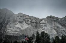 Mont Rushmore Au Dakota Du Sud