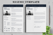 Resume Template. Cv Profession...