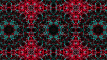 Abstract Kaleidoscope Pattern....