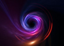 Black Hole, Science Fiction Wallpaper. Beauty Of Deep Space. Colorful Graphics For Background, Like Water Waves, Clouds, Night Sky, Universe, Galaxy, Planets,