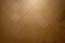 Wall Decoration With Brown Lea...