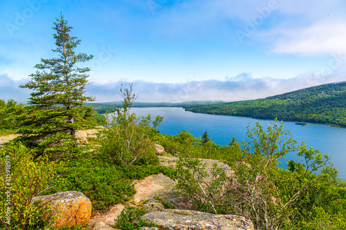Eagle Lake, Acadia National Park, Maine Canvas Print