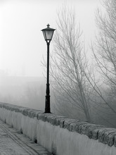 Lamppost On The Bridge In The ...