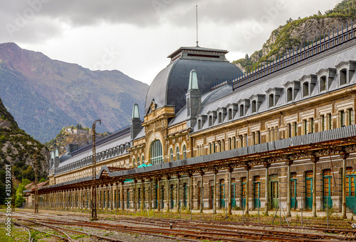 Canfranc railway station, Huesca, Spain