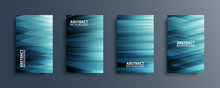Set Of Abstract Backgrounds Wi...
