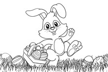 Easter Bunny Rabbit Cartoon Ch...