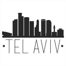 Tel Aviv Israel. City Skyline....