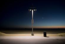 Evening At Venice Beach, Calif...