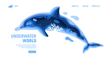 Underwater World Page Template...