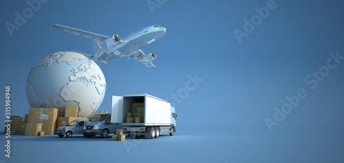Foto Transport and logistics