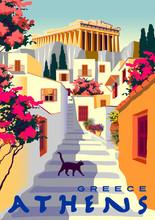 Summer Cityscape With Traditio...
