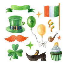 Happy Saint Patrick's Day Wate...