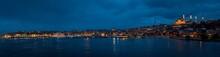 Istanbul Golden Horn Panorama ...