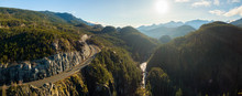Aerial Panoramic View Of The F...