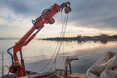 Photo Musselo aquaculture craner