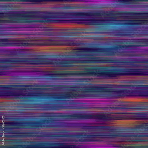 Fototapeta  Vivid degrade blur ombre radiant surreal blurry saturated digital neon pop seamless repeat vector pattern swatch