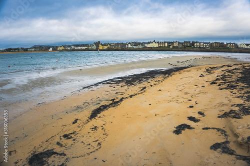 Fototapeta Beach in Elie, Fife, Scotland.