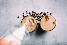Refreshing Iced Cappuccino Dri...