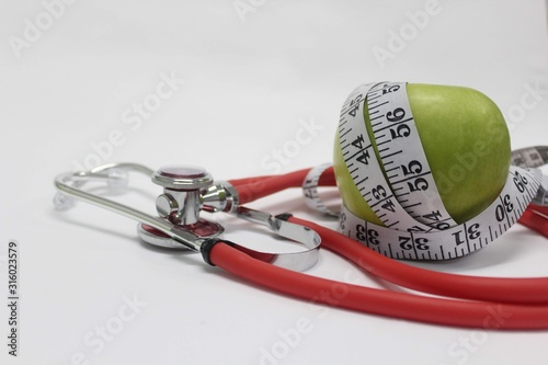 Obraz measuring tape and tape - fototapety do salonu