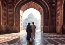 India. Taj Mahal Indian Palace...