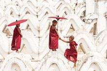 Burmese Buddhist Novice Monks ...