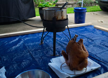 Deep Frying Turkey At Home For Thanksgiving
