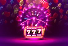 Casino Neon Colorful Fortune W...