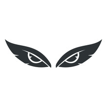 Eagle Eye Logo Illustration Wi...