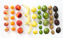 Colorful Fruit Assortment On I...