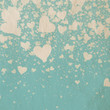 canvas print picture - Valentine's day background