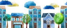 Watercolor Seamless Pattern. H...