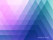 Abstract geometrical background. Polygonal pattern with color triangles. 3d vector illustration for advertising, marketing and presentation.