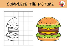 Complete The Picture Of A Burg...
