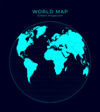 Map Of The World. Gilbert's Tw...