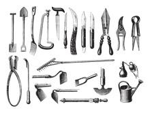 Old Garden Tools / Vintage Ill...