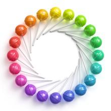 Sweet Multicolored Lollipops A...