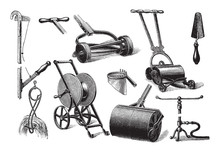 Old Garden Tools Collection / ...