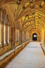 Cloister Hallway