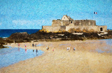 Impressionnisme. Saint-Malo, L...