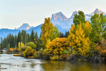 Autumn In Canmore Alberta Is O...