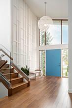 Home Showcase Mid-century Modern Foyer