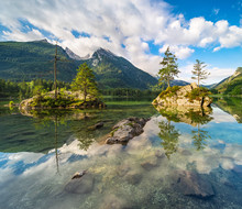Iconic View Of Lake Hintersee,...