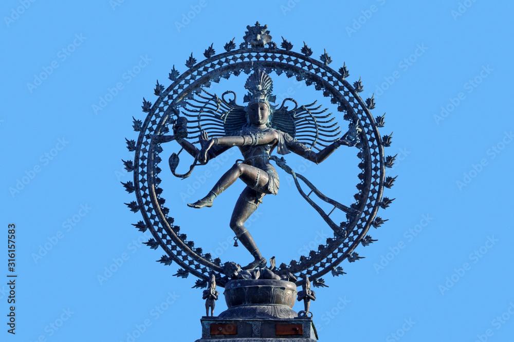 Fototapeta Nataraja, depiction of the Hindu god Shiva as Lord of the Dance