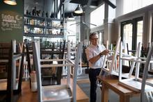 Senior Restaurant Owner Stacki...